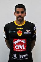 Thomas Renault - 04.09.2014 - Photo officielle Orleans - Ligue 2 2014/2015<br /> Photo : Philippe Le Brech / Icon Sport