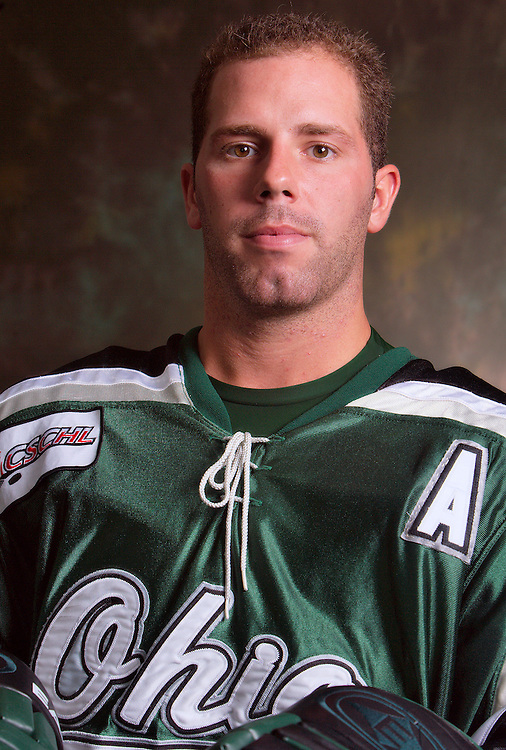 OU Hockey 2007-2008 team.18397.Photo by Kevin Riddell.model release on file