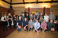 Monifieth Ladies coaches and volunteers - Monifieth Ladies presentation evening at the Panmure Hotel, Monifieth - Photo: David Young, <br /> <br />  - &copy; David Young - www.davidyoungphoto.co.uk - email: davidyoungphoto@gmail.com