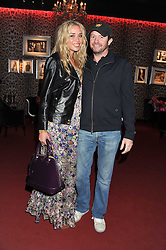 NOELLE RENO and SCOT YOUNG at a party hosted by Roberto Cavalli to celebrate his new Boutique's opening at 22 Sloane Street, London followed by a party at Battersea Power Station, London SW8 on 17th September 2011.