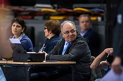 02-04-2016 NED: Draisma Dynamo - Abiant Lycurgus, Apeldoorn<br /> Lycurgus plaatst zich voor de finale door Dynamo met 3-1 te verslaan / Jury Jan Koehorst