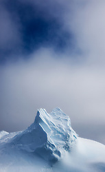 Top of ice berg, Southern Ocean, Antarctica