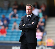 Millwall Manager Neil Harris during the Sky Bet League 1 match between Millwall and Chesterfield at The Den, London, England on 29 August 2015. Photo by Bennett Dean.