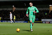 Fulham goalkeeper David Button (27) during the EFL Sky Bet Championship match between Burton Albion and Fulham at the Pirelli Stadium, Burton upon Trent, England on 1st February 2017. Photo by Richard Holmes.
