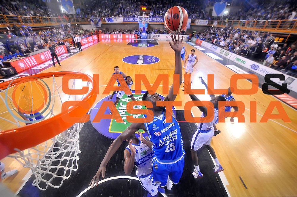 JaJuan Johnson <br /> Germani Basket Brescia - Red October Cantu'<br /> LegaBasket 2016/2017<br /> Brescia 09/10/2016<br /> Foto Ciamillo-Castoria