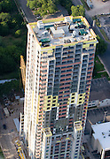 New condo construction on Lady Bird Lake, Austin, TX