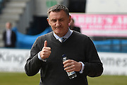 Coventry City  manager Tony Mowbray before the Sky Bet League 1 match between Gillingham and Coventry City at the MEMS Priestfield Stadium, Gillingham, England on 2 April 2016. Photo by Martin Cole.
