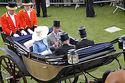 Camilla Parker-Bowles and Prince Charles. Royal Ascot Race meeting Ascot at York. Tuesday 14 June 2005. ONE TIME USE ONLY - DO NOT ARCHIVE  © Copyright Photograph by Dafydd Jones 66 Stockwell Park Rd. London SW9 0DA Tel 020 7733 0108 www.dafjones.com