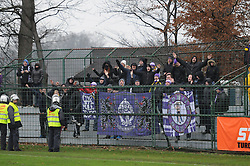 Viole, ultras of Maribor after football match between ND Mura 05 and NK Maribor in 21th Round of Slovenian First League PrvaLiga NZS 2012/13 on December 2, 2012 in Murska Sobota, Slovenia. (Photo By Ales Cipot / Sportida)