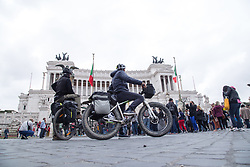 April 28, 2019 - Roma, RM, Italy - The ViaLibera initiative, organized by Roma Capitale, aimed at sustainable mobility is back today, Sunday 28 April 2019 (Credit Image: © Matteo Nardone/Pacific Press via ZUMA Wire)