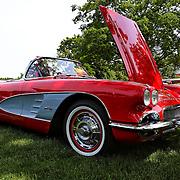 """""""61 Corvette Convertible""""<br /> <br /> A cool classic, the 1961 Corvette Convertible! <br /> <br /> Cars and their Details by Rachel Cohen"""