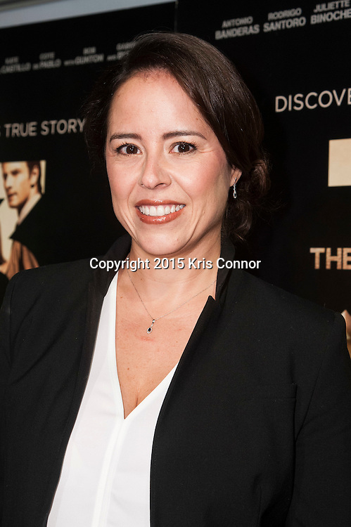 WASHINGTON, DC- OCTOBER 27:  Director Patricia Riggen attends the DC premiere of Warner Bros Pictures THE 33 at the Newsuem on October 27, 2015 in Washington, DC. (Photo by Kris Connor/Warner Bros. Pictures)
