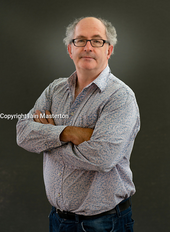 Edinburgh, Scotland, UK. 24 August 2019.  John Lanchester. John Lanchester's latest book The Wall is a science-fiction fable offering a chilling picture of a possible future. Iain Masterton/Alamy Live News.
