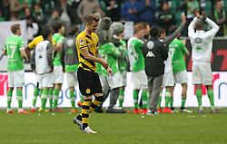 Football: Germany, 1. Bundesliga, VfL Wolfsburg - Borussia Dortmund (BVB), Wolfsburg - 16.05.2015,<br />