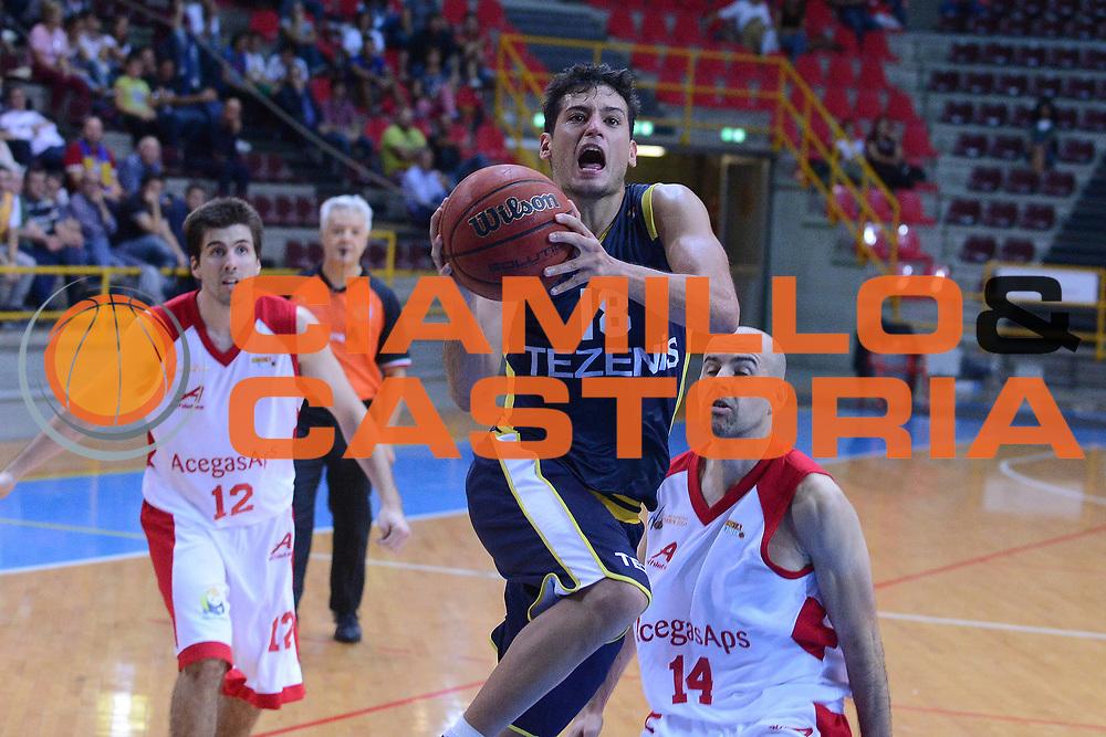 DESCRIZIONE : Verona Lega Basket A2 ottavi di finale qualificazioni final four eurobet 2012-13 Tezenis Verona Acegas Trieste <br /> GIOCATORE : massimo chessa<br /> CATEGORIA :  tiro<br /> SQUADRA : Tezenis Verona Acegas Trieste <br /> EVENTO : Lega Basket A2 ottavi di finale qualificazioni final four eurobet 2012-13 <br /> GARA : Tezenis Verona Acegas Trieste <br /> DATA : 27/09/2012<br /> SPORT : Pallacanestro <br /> AUTORE : Agenzia Ciamillo-Castoria/M.Gregolin<br /> Galleria : Lega Basket A2 2012-2013 <br /> Fotonotizia : Verona Lega Basket A2 ottavi di finale qualificazioni final four eurobet 2012-13 Tezenis Verona Acegas Trieste <br /> Predefinita :