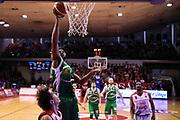 Wells Dezmine<br /> Grissin Bon Reggio Emilia - Sidigas Avellino<br /> Lega Basket Serie A 2017/2018<br /> Reggio Emiali, 20/01/2018<br /> Foto Ciamillo - Castoria