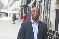 """Democratic Congressional contender for the First District, Patrick Brutus.<br /> <br /> Please 'Like' """"Spencer Bibbs Photography"""" on Facebook.<br /> <br /> All rights to this photo are owned by Spencer Bibbs of Spencer Bibbs Photography and may only be used in any way shape or form, whole or in part with written permission by the owner of the photo, Spencer Bibbs.<br /> <br /> For all of your photography needs, please contact Spencer Bibbs at 773-895-4744. I can also be reached in the following ways:<br /> <br /> Website – www.spbdigitalconcepts.photoshelter.com<br /> <br /> Text - Text """"Spencer Bibbs"""" to 72727<br /> <br /> Email – spencerbibbsphotography@yahoo.com"""
