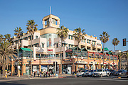 Downtown Huntington Beach at PCH and Main Street