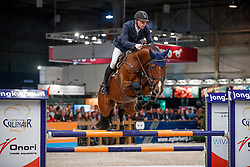 De Boer Lennard, NED, Heineken VK VDL<br /> KWPN Stallionshow - 's Hertogenbosch 2018<br /> © Hippo Foto - Dirk Caremans<br /> 01/02/2018