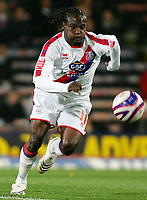 Fotball<br /> England<br /> Foto: Fotosports/Digitalsport<br /> NORWAY ONLY<br /> <br /> Crystal Palace FC vs Charlton Athletic FC Championship 30/09/08<br /> <br /> Palace striker Victor Moses in action.