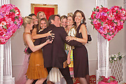 Wedding group in chapel. Selfridges Las Vegas dinner hosted by  hon Galen , Hillary Weston and Allanah Weston. Selfridges Oxford St. 20 April 2005. ONE TIME USE ONLY - DO NOT ARCHIVE  © Copyright Photograph by Dafydd Jones 66 Stockwell Park Rd. London SW9 0DA Tel 020 7733 0108 www.dafjones.com
