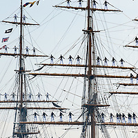 The Amerigo Vespucci is a tall ship of the Marina Militare, named after the explorer Amerigo Vespucci. Its home port is Livorno, Italy, and it is in use as a school ship.