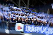 Germani Leonessa Basket Brescia tifosi<br /> Vuelle VL Pesaro - Germani Leonessa Basket Brescia<br /> Lega Basket Serie A 2017/2018<br /> Pesaro, 01/10/2017<br /> Foto M.Ceretti / Ciamillo - Castoria
