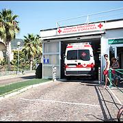Ingresso Pronto Soccorso dell' Ospedale Santa Corona di Pietra Ligure (SV) .22 agosto 2011