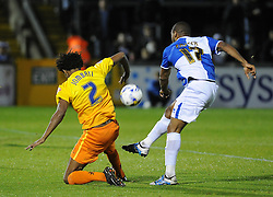 Jermaine Easter of Bristol Rovers - Mandatory byline: Neil Brookman/JMP - 07966 386802 - 06/10/2015 - FOOTBALL - Memorial Stadium - Bristol, England - Bristol Rovers v Wycombe Wanderers - JPT Trophy