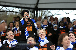 Brighton Goes Gospel outside the American Express Community Stadium - Mandatory byline: Jason Brown/JMP - 07966 386802 - 19/12/2015 - FOOTBALL - American Express Community Stadium - Brighton,  England - Brighton & Hove Albion v Middlesbrough - Championship