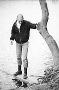 Gavin in Black park, Buckinghamshire, UK, 1980s.