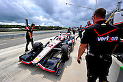 30 March - 1 April, 2012, Birmingham, Alabama USA.Will Power.(c)2012, Jamey Price.LAT Photo USA
