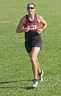 Central Valley, New York - Charles McCafferty runs in the Woodbury Country Ramble race on Aug. 26, 2012.