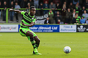 Forest Green Rovers Dale Bennett(2) passes the ball during the EFL Sky Bet League 2 match between Forest Green Rovers and Accrington Stanley at the New Lawn, Forest Green, United Kingdom on 30 September 2017. Photo by Shane Healey.