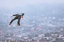 22.02.2019, Bergiselschanze, Innsbruck, AUT, FIS Weltmeisterschaften Ski Nordisch, Seefeld 2019, Skisprung, Herren, im Bild Evgeniy Klimov (RUS) // Evgeniy Klimov of Russian Federation during the men's Skijumping of FIS Nordic Ski World Championships 2019. Bergiselschanze in Innsbruck, Austria on 2019/02/22. EXPA Pictures © 2019, PhotoCredit: EXPA/ Dominik Angerer