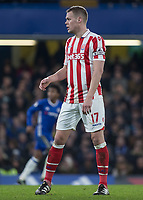 Football - 2016 / 2017 Premier League - Chelsea vs. Stoke City <br /> <br /> Ryan Shawcross of Stoke City at Stamford Bridge.<br /> <br /> COLORSPORT/DANIEL BEARHAM