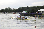 Henley, Great Britain.  Henley Royal Regatta. M4X, Queen Mother Challenge Cup, Australian Institute of Sport, AUS [Bucks], and CARC Mladost and RC Tresnjevka, CRO [Berks],race along Temple Island, in their Semi-Final. River Thames Henley Reach.  Royal Regatta. River Thames Henley Reach.  Saturday  02/07/2011  [Mandatory Credit  Intersport Images] . HRR