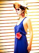 Model: Chloe Gerak.Makeup: Jennifer Ruth.Hair: Katie-Rose Petley.Stylist: Jihan Amer.Photography: Lloyd K. Barnes