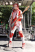 Photos of the band Peelander-Z performing at The Great GoogaMooga festival at Prospect Park in Brooklyn, NY. May 20, 2012. Copyright © 2012 Matthew Eisman. All Rights Reserved.