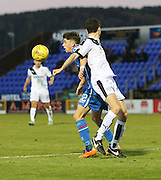 Inverness&rsquo; Ryan Christie and Dundee&rsquo;s Paul McGinn  - Inverness Caledonian Thistle v Dundee at Caledonian Stadium, Inverness<br /> <br />  - &copy; David Young - www.davidyoungphoto.co.uk - email: davidyoungphoto@gmail.com