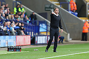 Bolton Wanderers manager Phil Parkinson during the EFL Sky Bet League 1 match between Bolton Wanderers and Bradford City at the Macron Stadium, Bolton, England on 24 September 2016. Photo by Simon Brady.