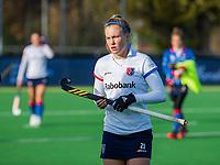 AMSTELVEEN - Pien Dicke (SCHC) voor de competitie hoofdklasse hockeywedstrijd dames, Pinoke-SCHC (1-8) . COPYRIGHT KOEN SUYK