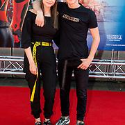 NLD/Amsterdam/20190702 - Filmpremiere Spider-man: Far From Home, Stefania en Jannes Heuvelmans