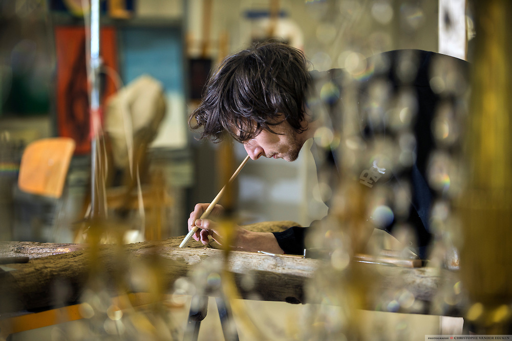 Iparc, Leen Gysen, international platform art research and conservation. PHOTO © Christophe Vander Eecken