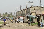 Lekki street, Lagos, Nigeria, West Africa