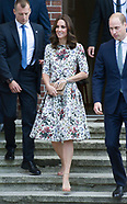 Kate Middleton & Prince William Visit Concentration Camp