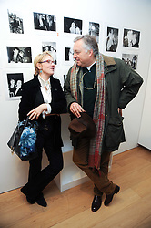 ? and COUNT EDMONDO di ROBILANT at a private view of photographs by Nick Ashley held at the Sladmore Gallery, 32 Bruton Place, London on 13th January 2010.