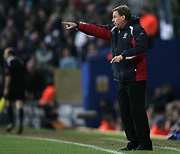 Photo: Lee Earle.<br /> Portsmouth v Tottenham Hotspur. The Barclays Premiership. 01/01/2007.Portsmouth manager Harry Redknapp.