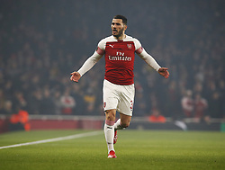 March 14, 2019 - London, England, United Kingdom - Dead Kolasinac of Arsenal.during Europa League Round of 16 2nd Leg  between Arsenal and Rennes at Emirates stadium , London, England on 14 Mar 2019. (Credit Image: © Action Foto Sport/NurPhoto via ZUMA Press)