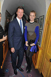 The PAD London 2012 dinner was held at Annabel's, Berkeley Square, London on 10th October 2012.<br /> EVA HERZIGOVA, GREGORIO MARSIAJ